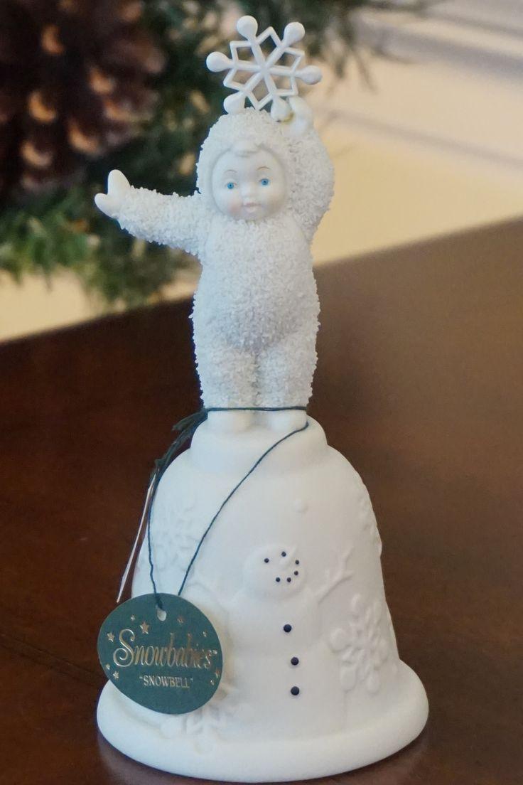 Department 56 snowbabies ornaments - Snowbabies Snowbell