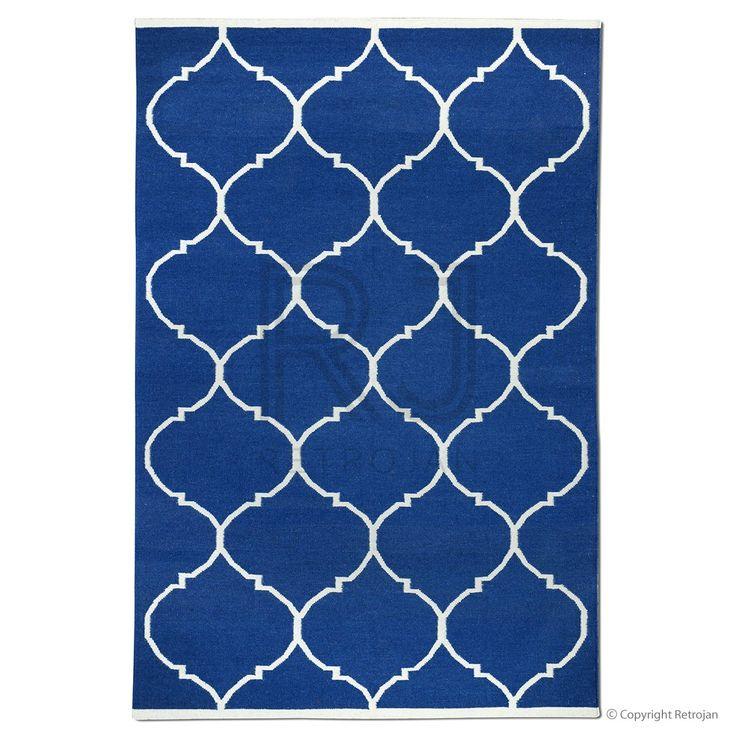 Savoy Designer Rug - Dark Blue | $399.00