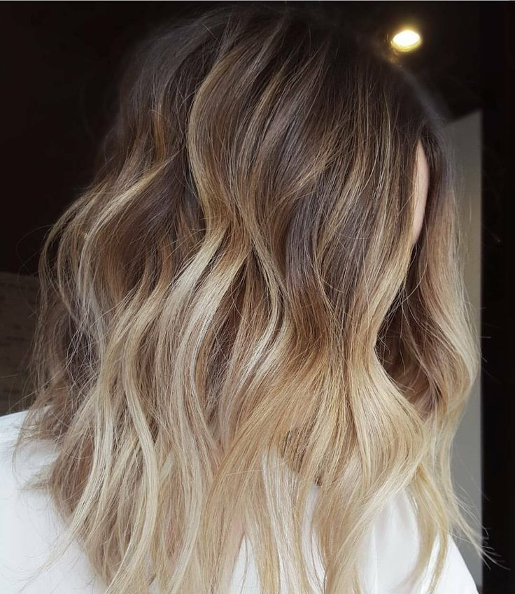 Vanilla Milkshake - It may look a lot like your average ombré, but vanilla milkshake hair has its own blend of dark-to-light strands. While the ends are lightened to the blondest blonde, the roots are kept natural for a more lived-in look.