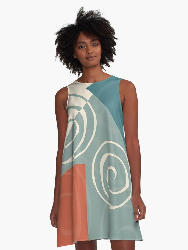 Iterations A-Line Dress at Redbubble