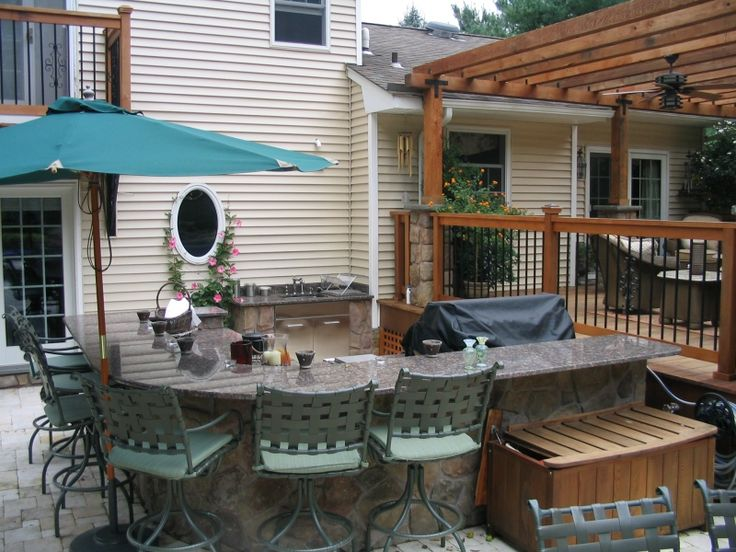 Outdoor Kitchen installed by Green Meadows