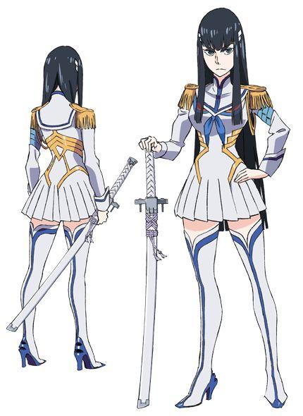 ✧ #characterconcepts ✧ Kill la Kill - Satsuki Kiryuin