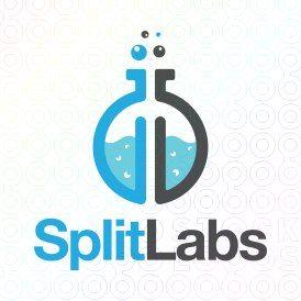 Exclusive Customizable Logo For Sale: Split Labs | StockLogos.com https://stocklogos.com/logo/split-labs