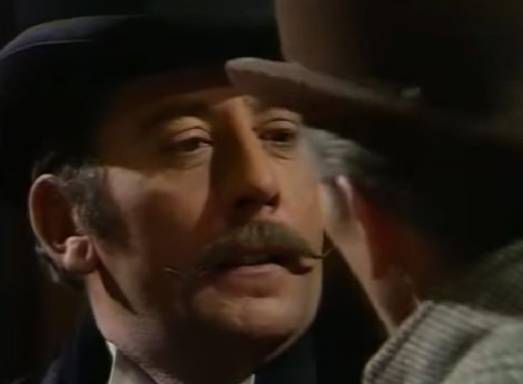 James Beck in The Blue Carbuncle 1968 with Peter Cushing