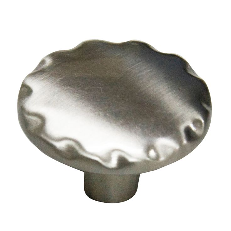 style selections satin nickel round cabinet knob kitchen