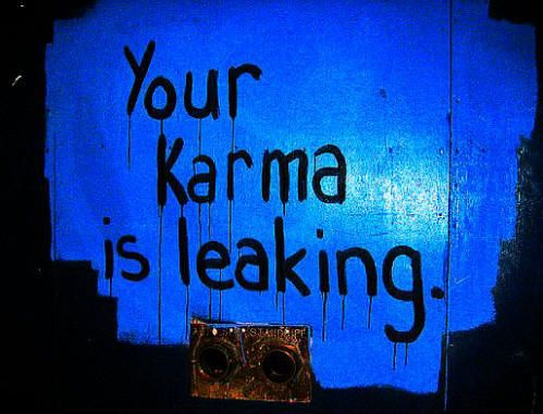 Your Kamma Leaks into the Future!