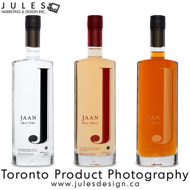 Toronto Bottle Spirits, Wine and Bottle Photographer  Bottle product photography with reflections can detract from the brand and the overall image. As a general rule, product shots by Jules Design feature minimal unwanted reflections; the net result is a cleaner product shot and a better looking photograph.    25 Hollinger Road В· Unit 18 В·Toronto В· Ontario В· M4B3N4  647.997.2793 В· jules@julesdesign.ca В·  www.julesdesign.ca