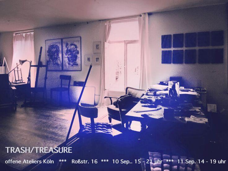 Liebe Freunde,es ist wieder an der Zeit Trash/Treasure Atelier zu öffnen…