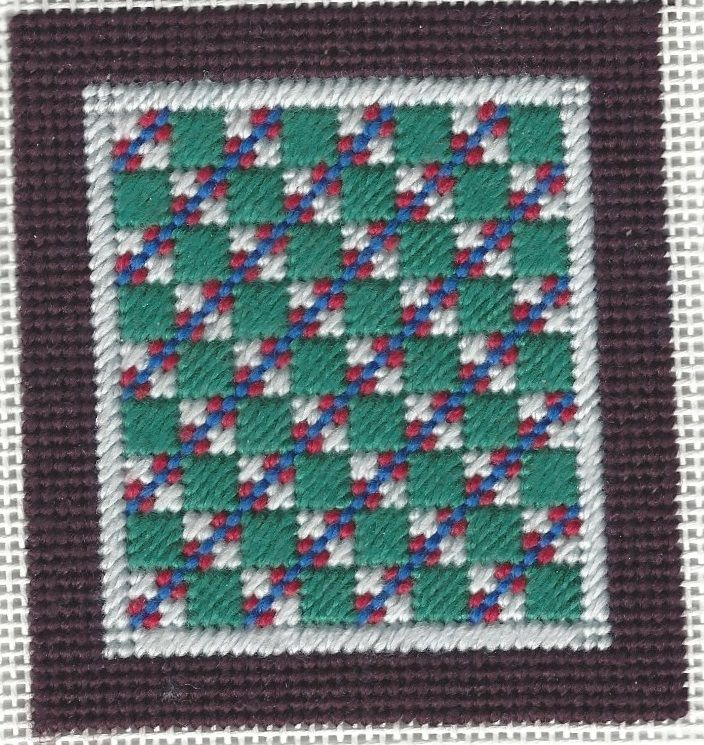 copyright Napa Needlepoint, model stitched by Cheryl Jariosh