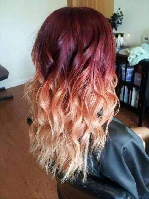 only with brown instead of the maroon Ombre