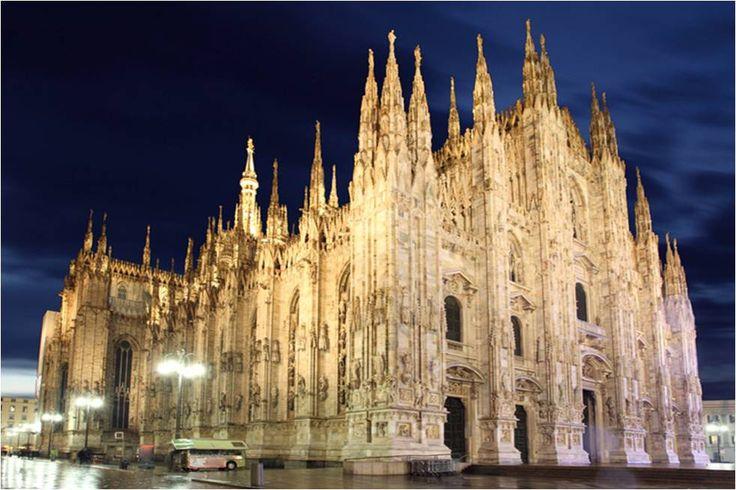 밀라노 두오모 대성당 1386~1577 고딕 플랑부아양 양식 [아트인문학]