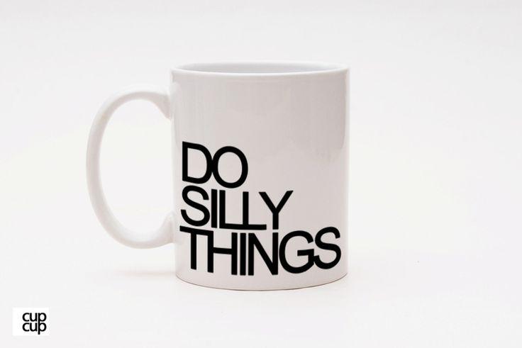 彡CupCup   Typo Tasse   silly things van heyhey op DaWanda.com