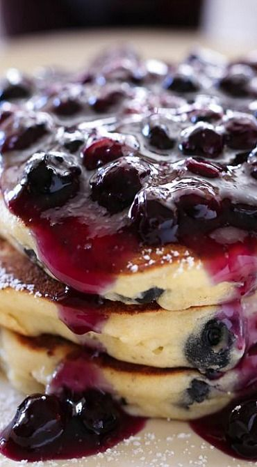 ... Lemon Blueberry Pancakes on Pinterest | Blueberry pancakes, Pancakes