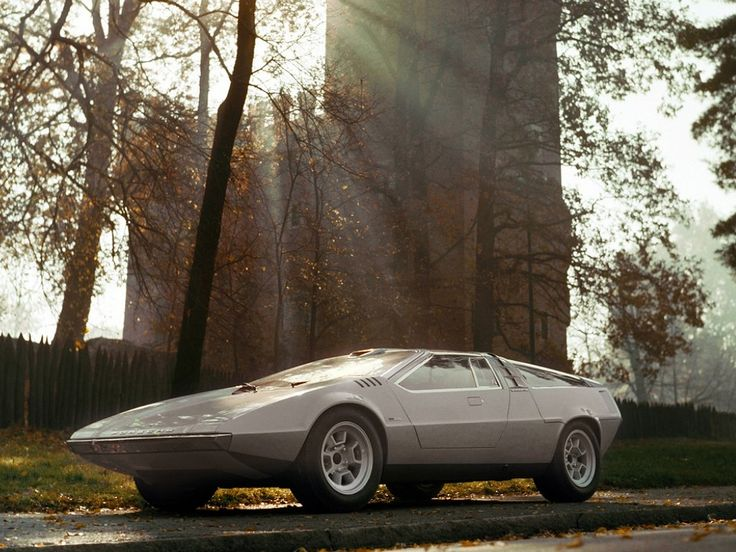 concept car, the 1970 Giugiaro Porsche Tapiro. The car was designed with double gull-wing doors