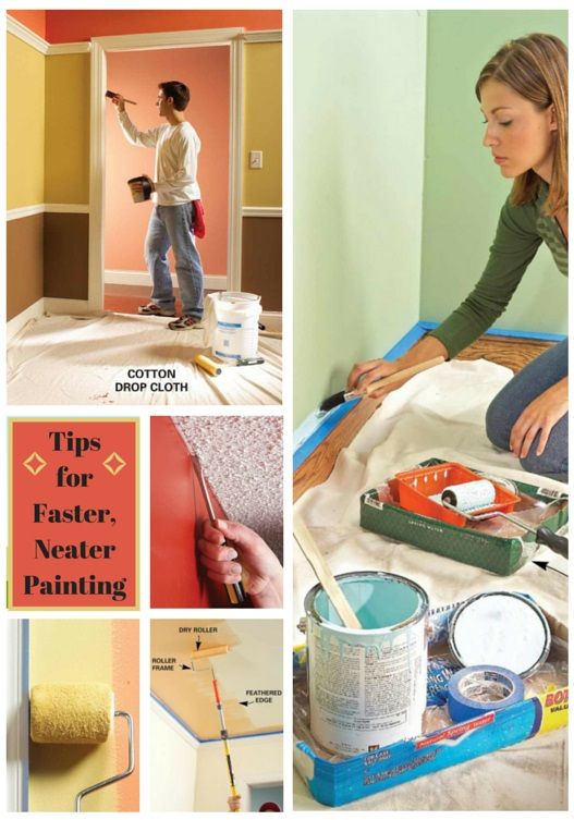 tips for faster, neater painting - save time and cut the mess with these pro…