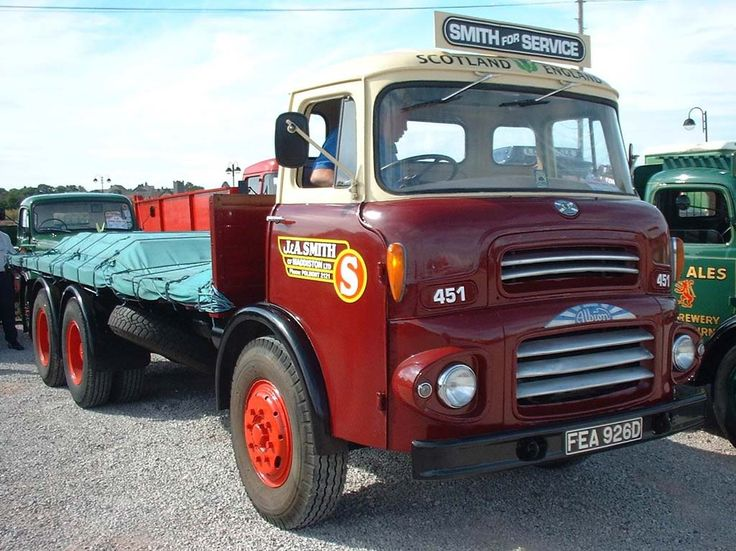 66 Albion Reiver Six Wheel Flat in J&A Smith of Scotland Livery