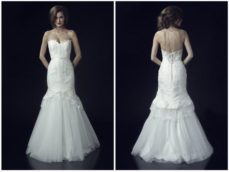 Heidi Elnora Fall 2014 #Wedding Dress Collection - Charlotte Fleur #weddingdress #bridalcollections