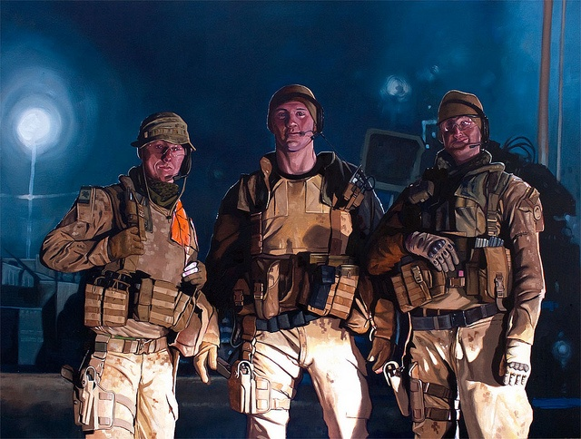 Force Protection (Camp Phoenix, Kabul) by scottwaters, via Flickr