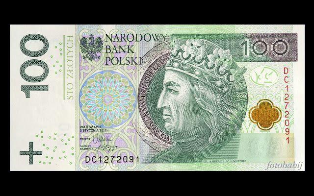Zdjęcia HD, UHD, 4K: Banknot 100 zł, król Władysława II Jagiełło, Narod...