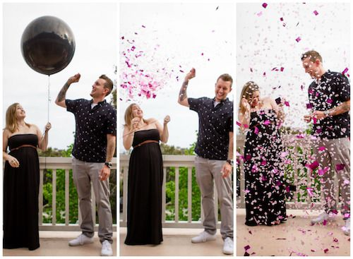 Gender Reveal Confetti Balloon Pop