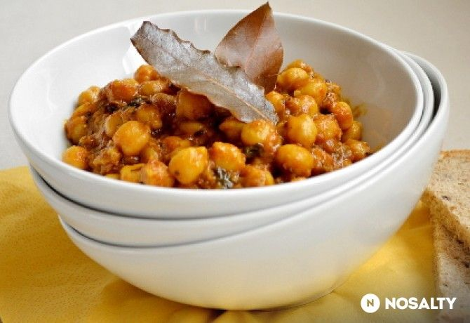 Csicseriborsó curry