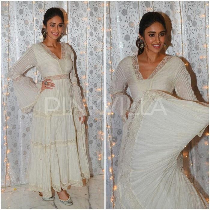 Celebrity Style,Ritu Kumar,Ileana D'Cruz,Sanam Ratansi,Mubarakan Promotions