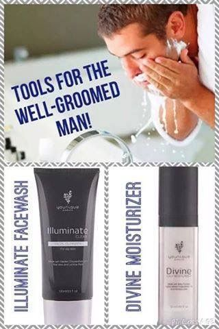 Healthy Younique products for men Click the photo to shop  https://www.youniqueproducts.com/DebbieBeauteous/party/3396011/view