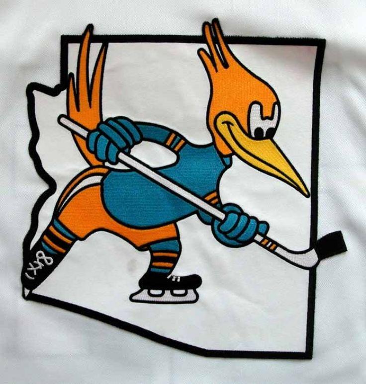 phoenix roadrunners jersey Google Search HOCKEY LOGOS