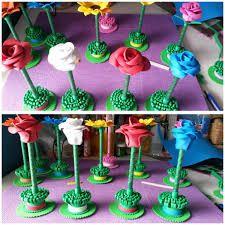 Resultado de imagen para lapiceros decorados con foami