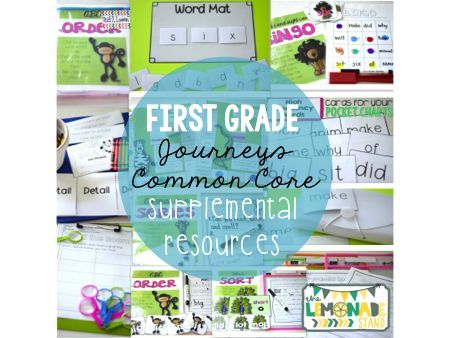 Supplemental resources for the entire year for First Grade Journeys.  Take a closer look at how you can up your reading instruction game using your basal reading series.