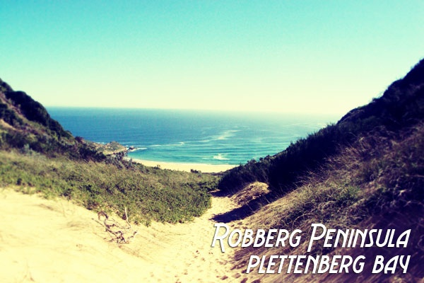 Robberg Peninsula.  A favourite place in Plett