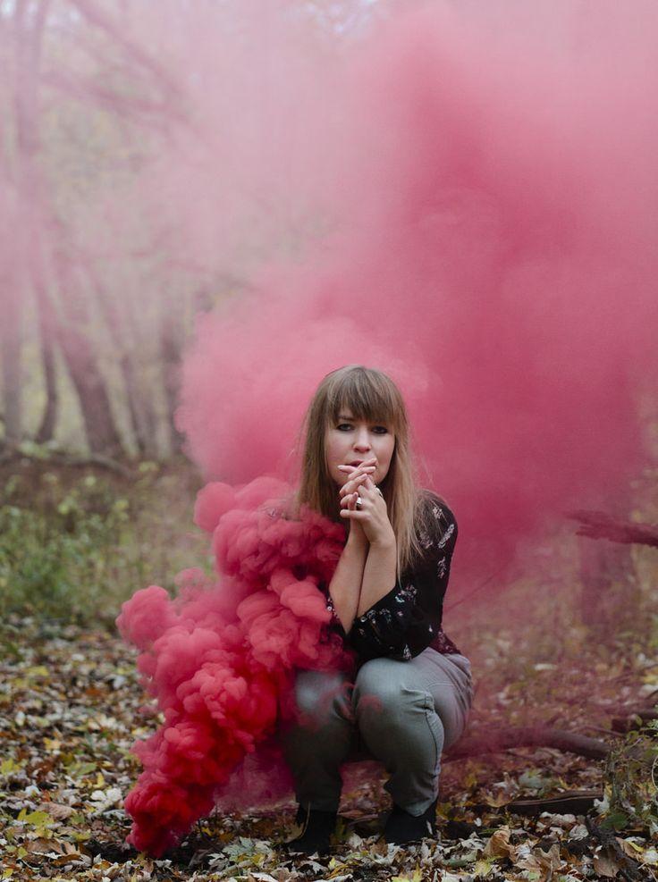 Smoke | Eat Pomegranate Photography