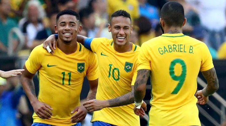 Olimpíadas Rio 2016: Apoteose no Maracanã: Brasil faz 6 em Honduras e fica a um…
