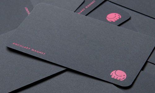 Business card idea.