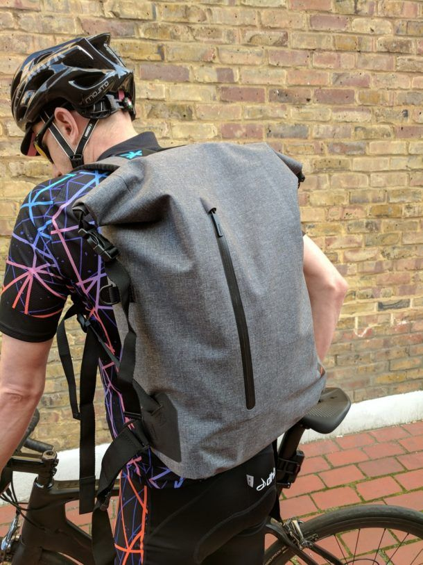 Are you a cycle commuter? These Knomo backpacks might be for you!