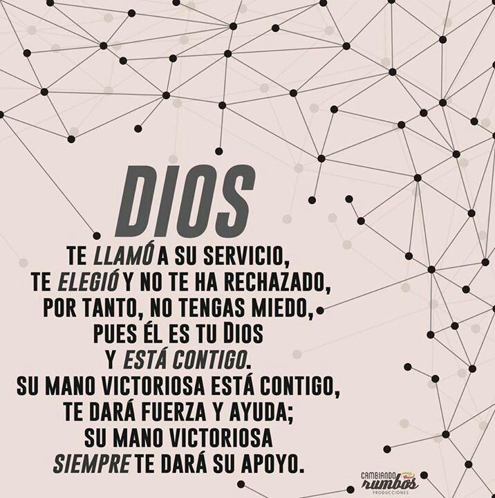 Dios te llama a su servicio