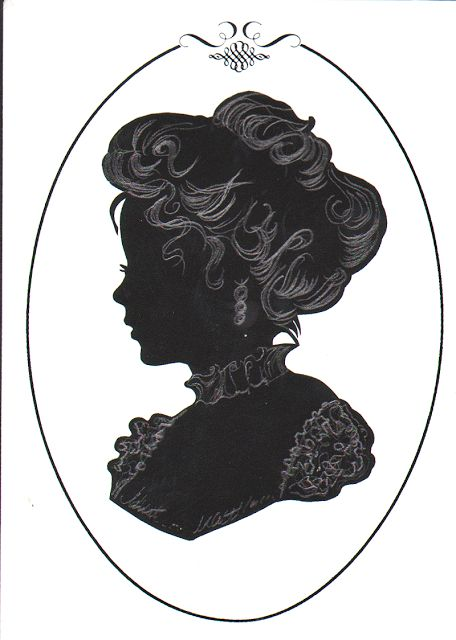140 best Victorian Silhouettes images on Pinterest ...
