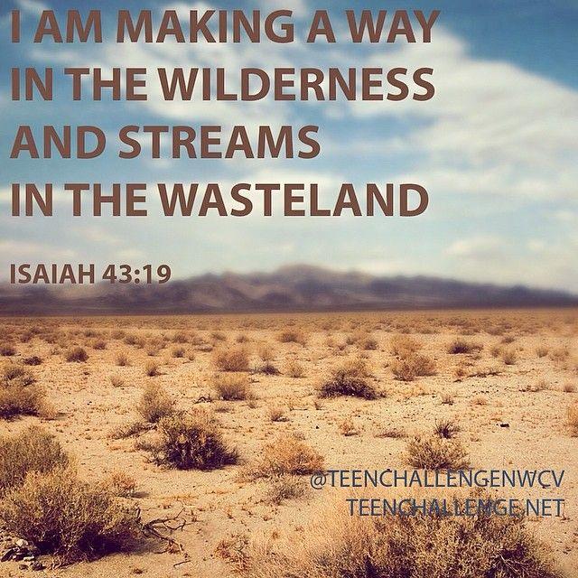 25+ best Isaiah 43 19 ideas on Pinterest | Thankful bible verses, Encouraging verses and Faith verses