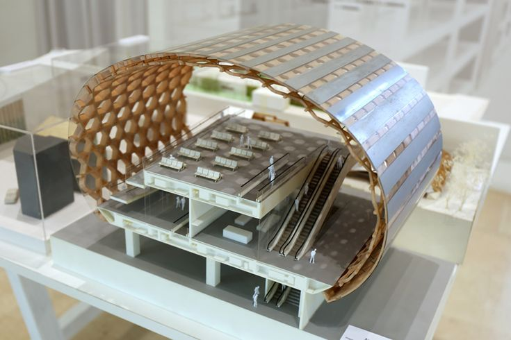 archi depot tokyo exhibiton at milan triennale_designboom_009; airport project by shigeru ban
