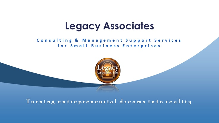 Legacy Small Business Consulting Video...