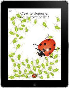 Les applications numériques - Livres pour enfants - Gallimard Jeunesse Beautiful interactive book about Ladybugs.
