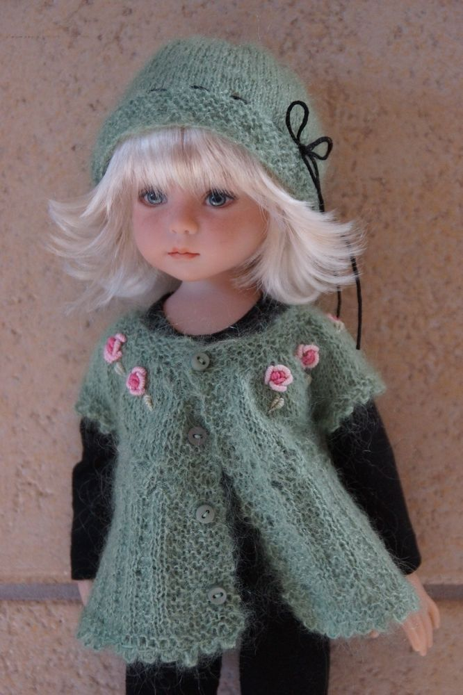 "Effner 13"" Little Darling *SIMPLY ROSES* Ensemble by Ladybugs Doll Designs OOAK"