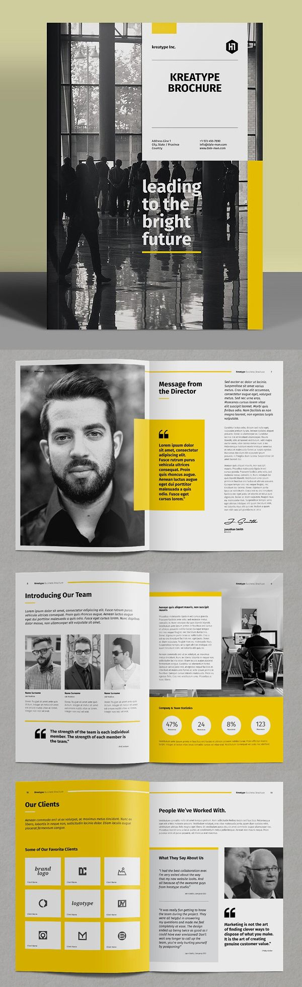 booklet template indesign