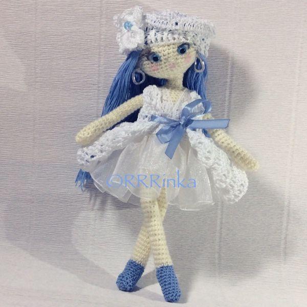 Malvina ballerina amigurumi doll. (Inspiration).