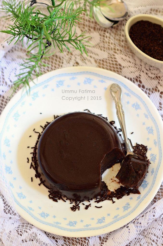 Simply Cooking and Baking...: Puding Coklat yang Lembut dan Nyoklat