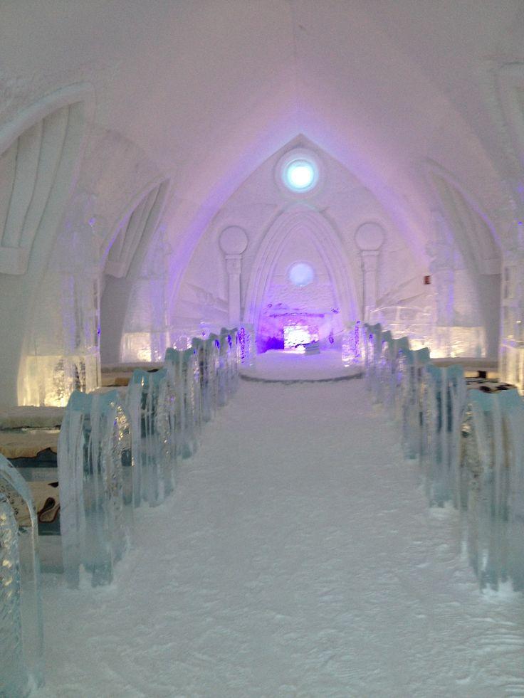 Furs at Hotel de glace by Quebec's Fourrures Grenier - quebec / la petite chapelle