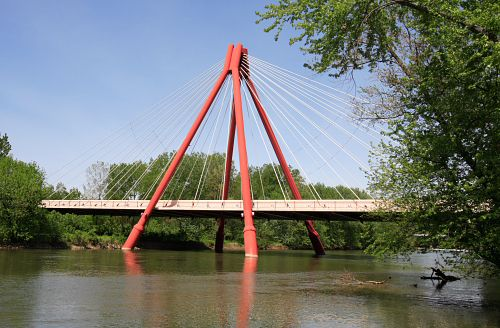 Columbus Indiana Bridge  Was born and raised here. This is supposed to be the gateway to Columbus.