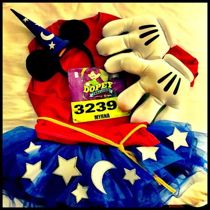 Sorcerer Mickey for the WDW 10k 2015
