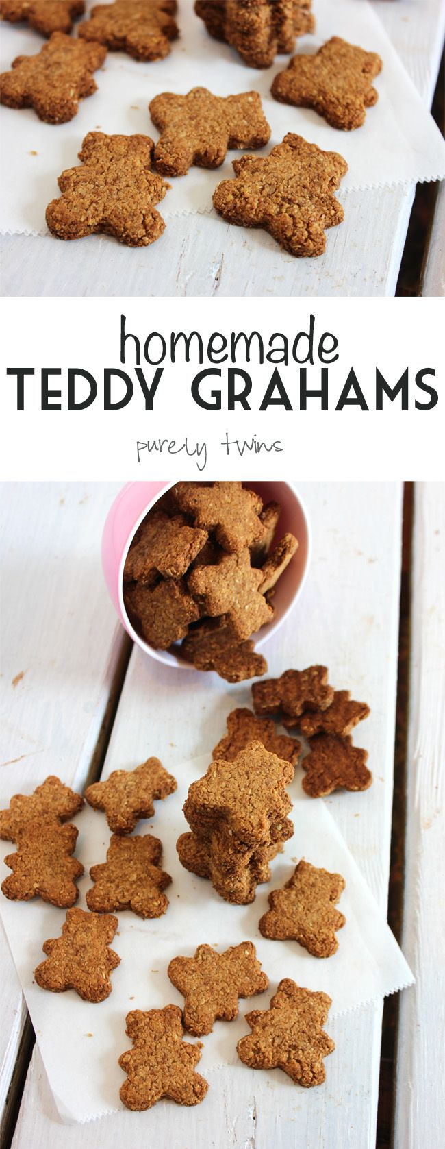 Homemade Teddy Grahams with tigernut flour (AIP friendly)