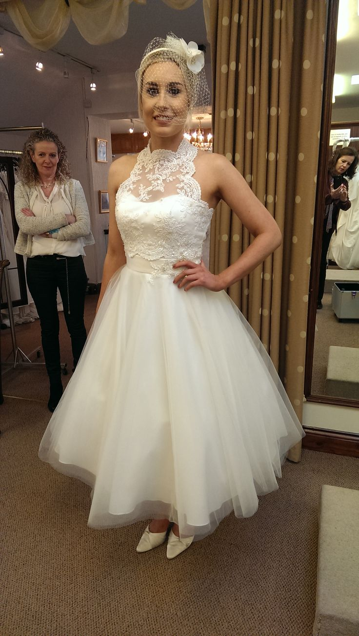 Photoshoot in Finesse, Listowel #Wedding Dresses #ShortTulle